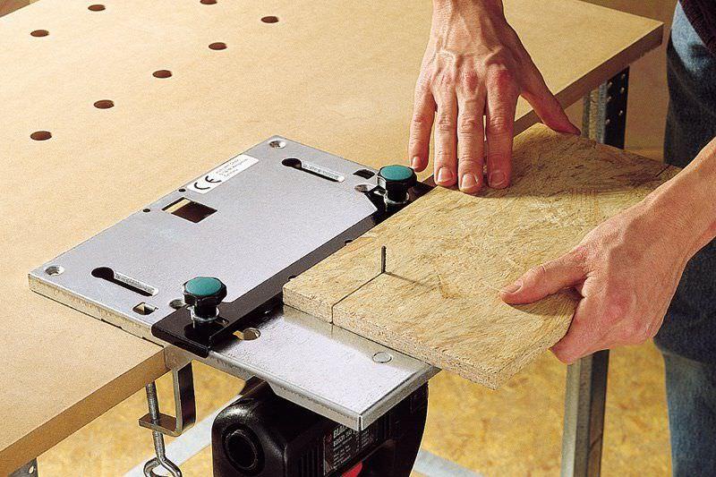 Стол для электролобзика своими руками: изготовление