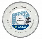 Диск алмазный CDC Ø 300*25,4 мм TURBO Brilliant CARAT BATTIPAV CDC3004000